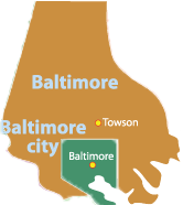 baltimore county maryland law office location